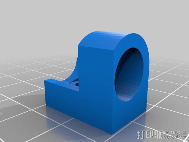 Z轴限位开关适配器 3D模型  图3