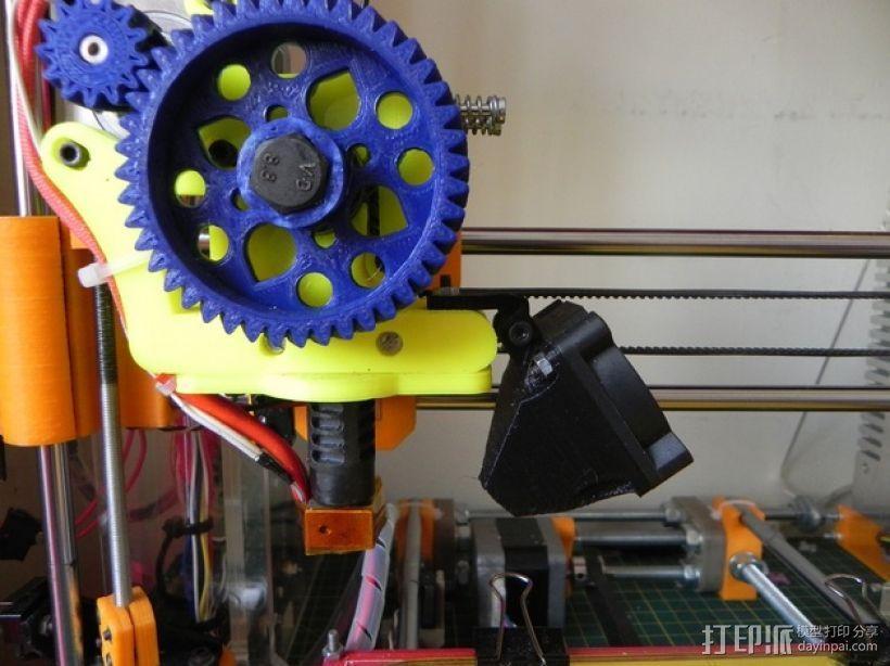 Prusa i3打印机的风扇通风导管 3D模型  图4