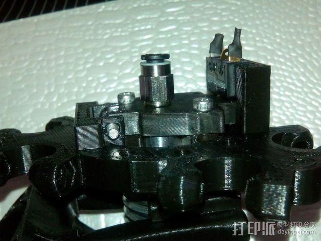 E3D 喷头支架 3D模型  图1