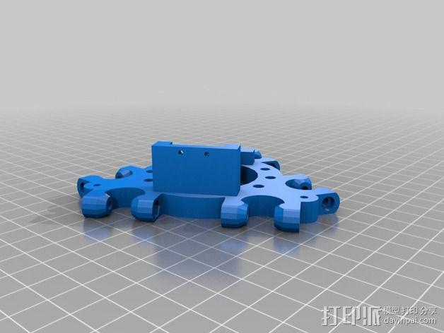 E3D 喷头支架 3D模型  图2