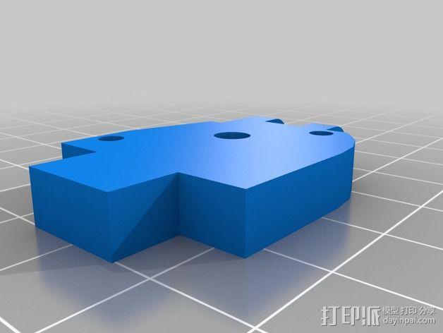 E3D 喷头支架 3D模型  图3