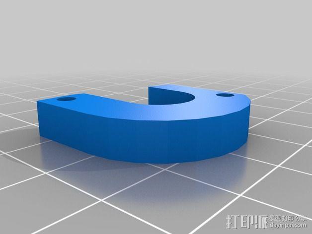 E3D 喷头支架 3D模型  图4