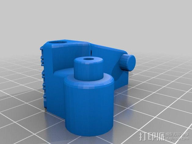 挤出机用608轴承 3D模型  图2