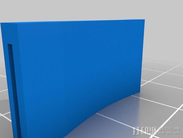 SD卡适配器 3D模型  图2