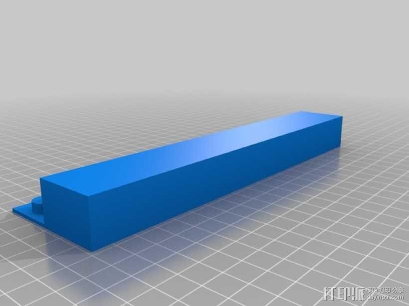 ROBO 3D打印机的垃圾箱 废弃箱 3D模型  图1