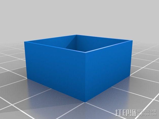 层厚打印测试 3D模型  图1