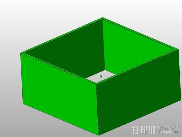 层厚打印测试 3D模型  图2