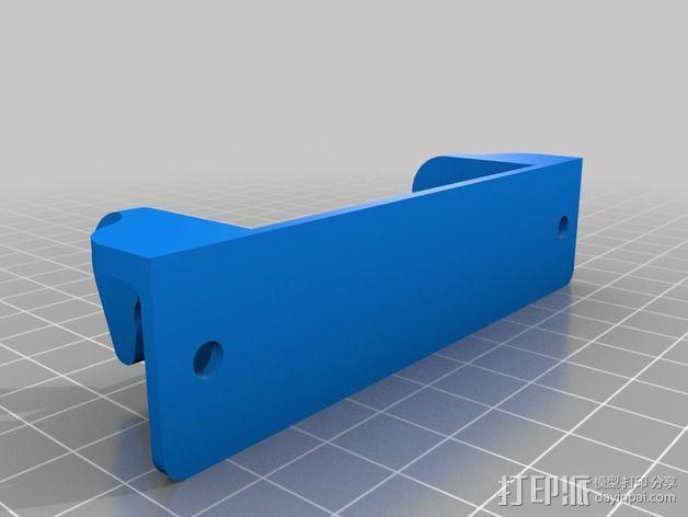 电路板显示屏保护罩 3D模型  图2