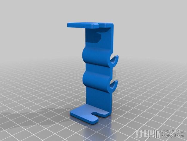 电路板显示屏保护罩 3D模型  图3