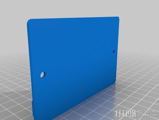 电路板显示屏保护罩 3D模型  图5
