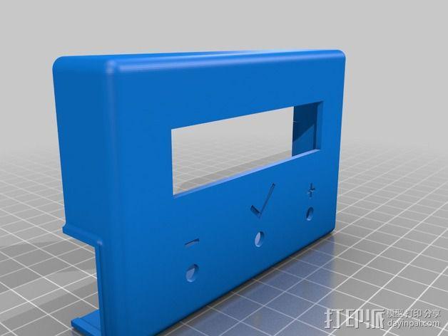 电路板显示屏保护罩 3D模型  图4
