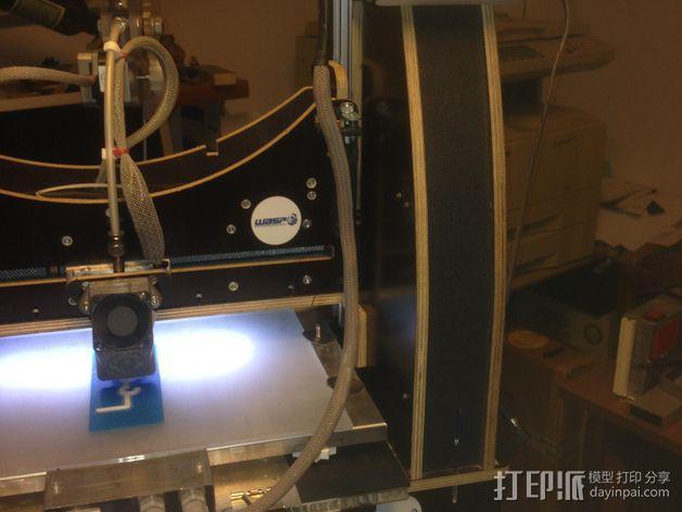 电路板显示屏保护罩 3D模型  图6