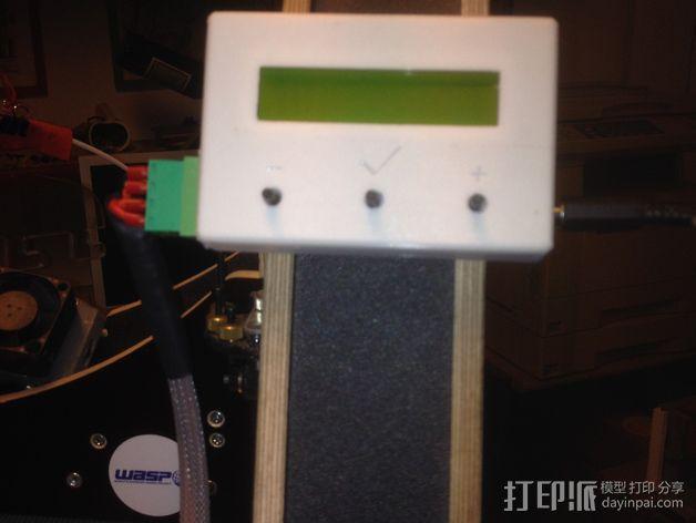 电路板显示屏保护罩 3D模型  图7