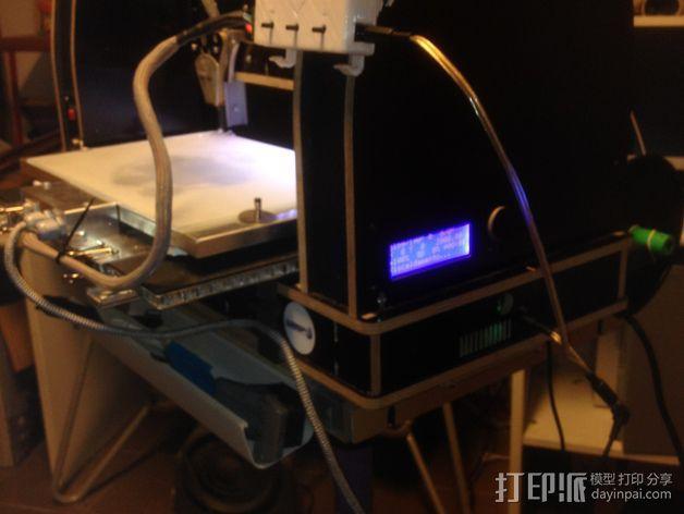 电路板显示屏保护罩 3D模型  图9