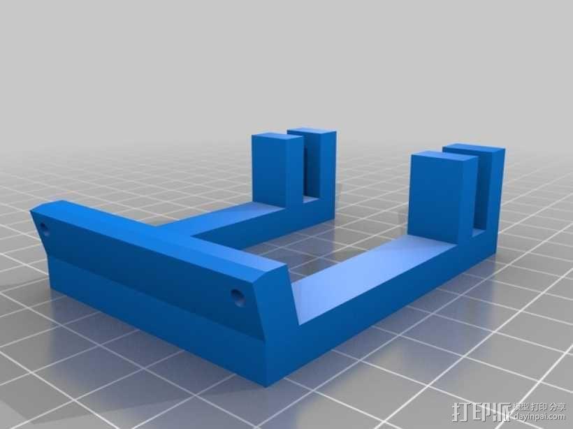 50毫米的风扇支架 3D模型  图2
