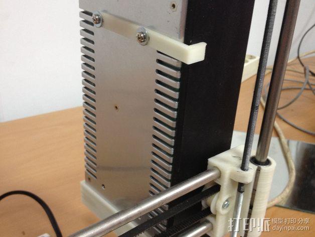 电源固定框 3D模型  图4