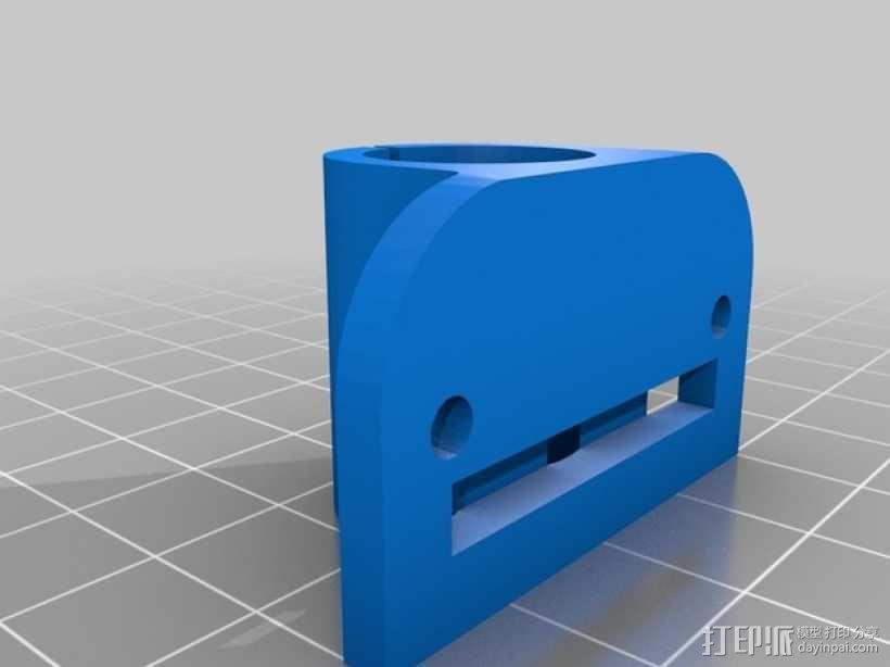 轴承套管 3D模型  图2