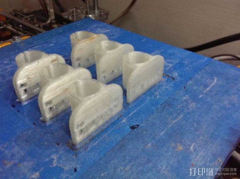 轴承套管 3D模型  图1
