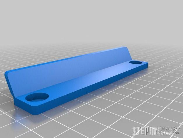 LED灯带支架 3D模型  图2