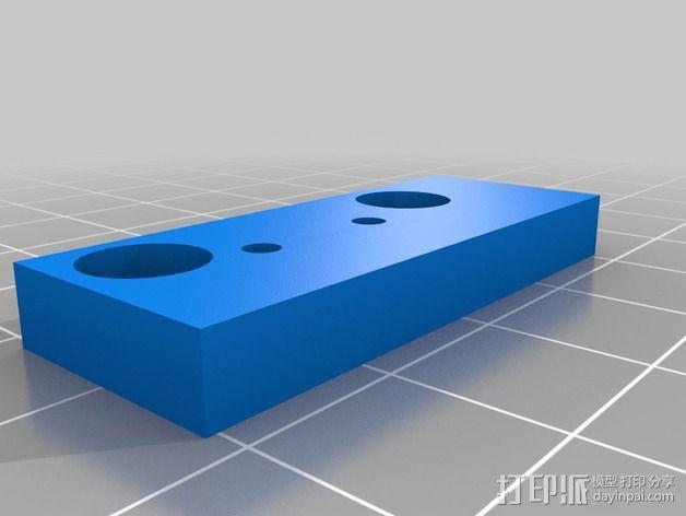 RepRap 打印机的限位开关调谐器 3D模型  图2