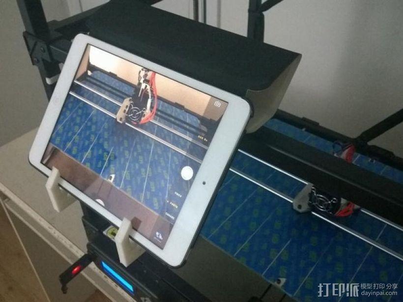 RigidBot打印机上的平板电脑支架 3D模型  图4