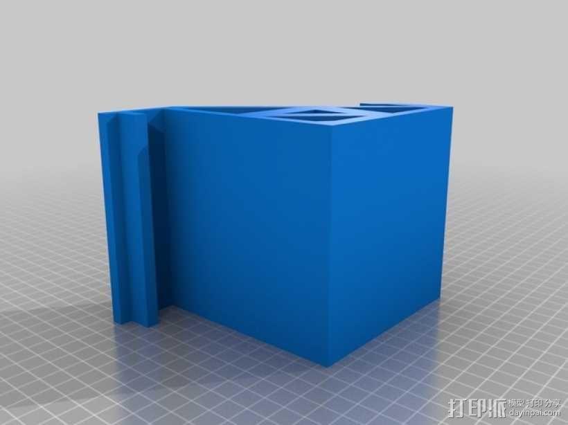 RigidBot打印机上的平板电脑支架 3D模型  图7