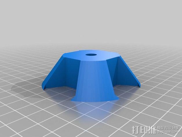 通用式的线轴固定器 3D模型  图1
