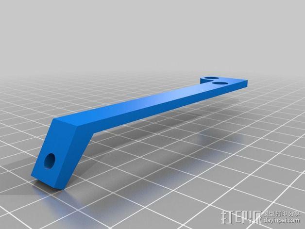 风扇支撑架 3D模型  图1