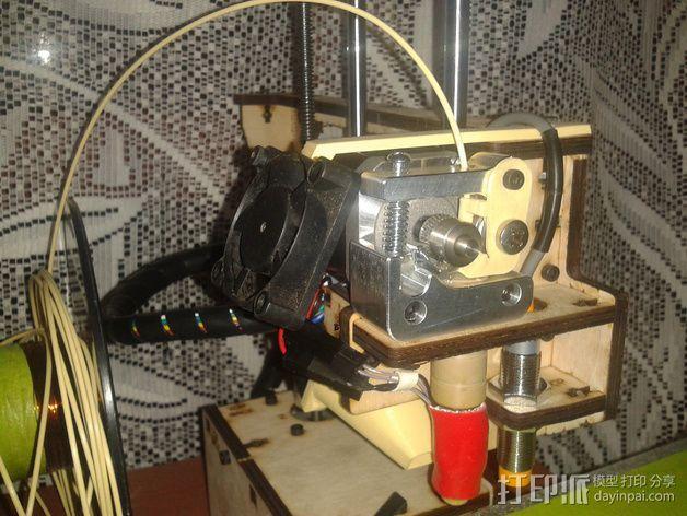 风扇支撑架 3D模型  图3