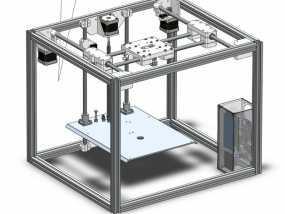 ramps和 RaspberryPi树莓派电路板的外罩 3D模型