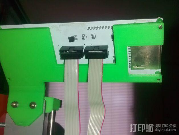 LCD液晶显示屏的支架 3D模型  图4