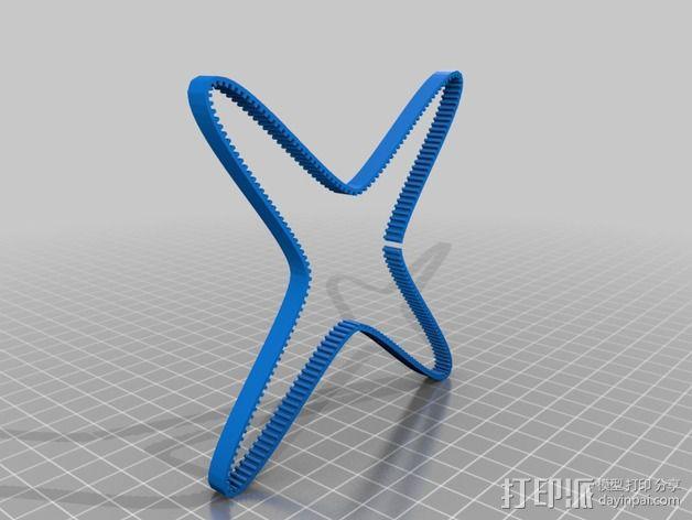 正时皮带 3D模型  图2