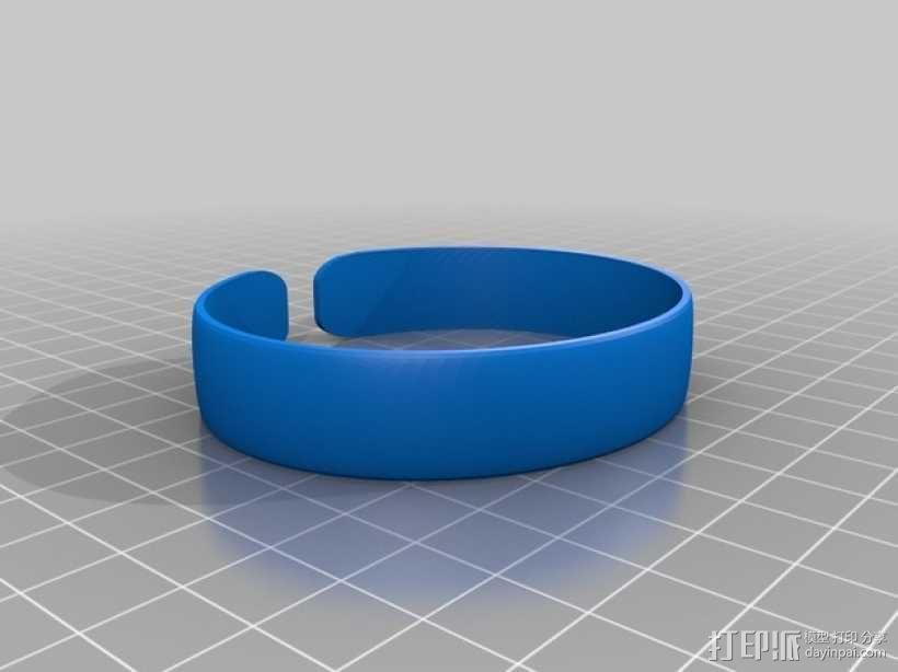手镯 3D模型  图1