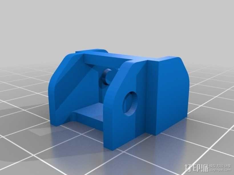 Prusa i3打印机的部件 3D模型  图1