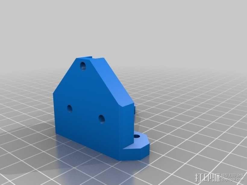 Prusa i3打印机的部件 3D模型  图3