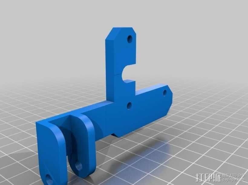 Prusa i3打印机的部件 3D模型  图4
