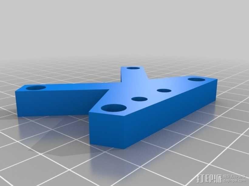 Prusa i3打印机的部件 3D模型  图10