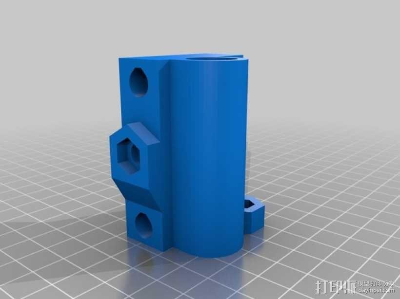 Prusa i3打印机的部件 3D模型  图16