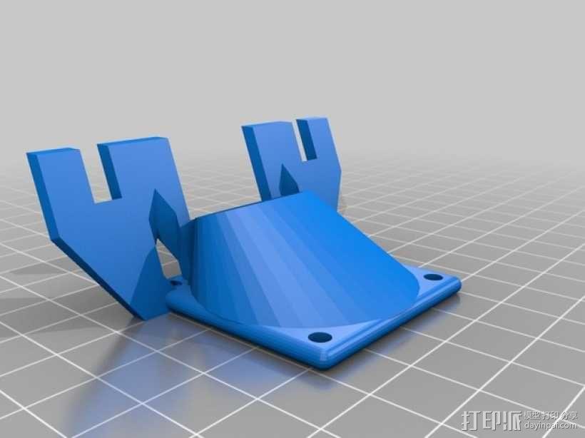 Prusa i3打印机的部件 3D模型  图21