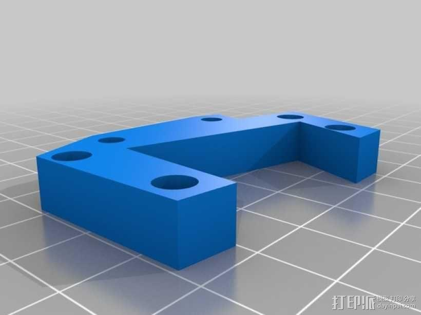 Prusa i3打印机的部件 3D模型  图26