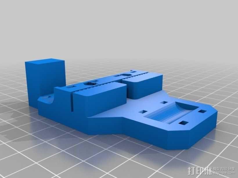 Prusa i3打印机的部件 3D模型  图29