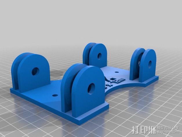 参数化的线轴支架 3D模型  图3
