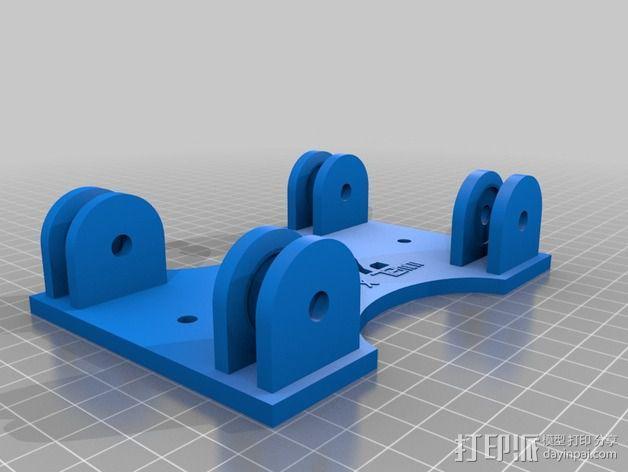 参数化的线轴支架 3D模型  图7
