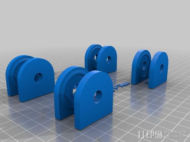 参数化的线轴支架 3D模型  图8