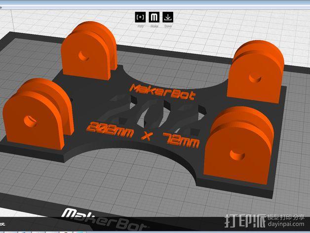 参数化的线轴支架 3D模型  图18