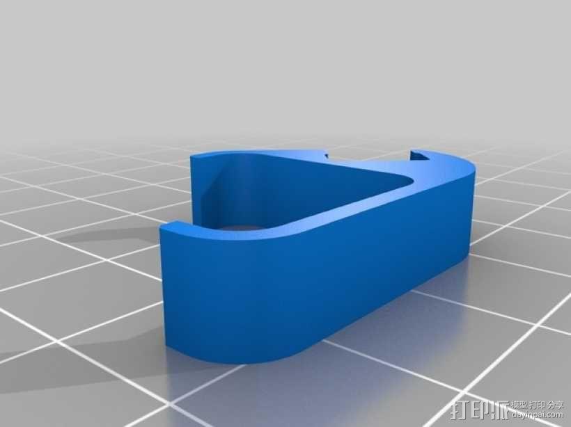 发光二极管固定夹 3D模型  图2
