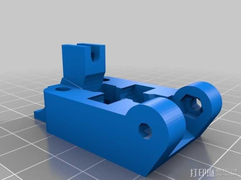 Greg挤出机配件 3D模型  图4