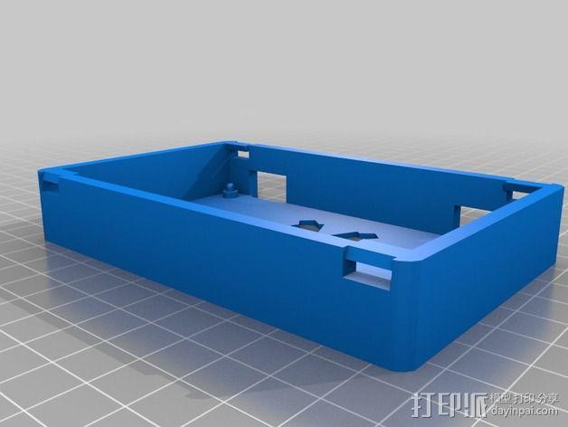 Printrbot Simple 打印机的电路板外罩 3D模型  图2