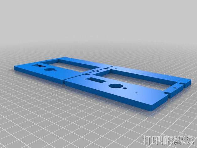 显示屏外框 保护器 3D模型  图4