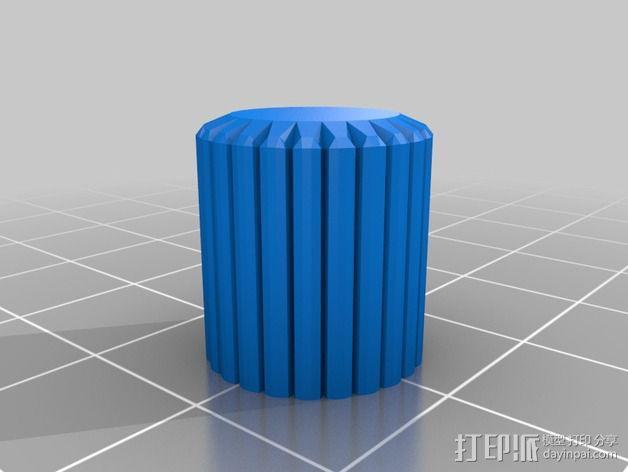 显示屏外框 保护器 3D模型  图2